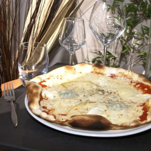 Pizza 4 Fromages 12€90